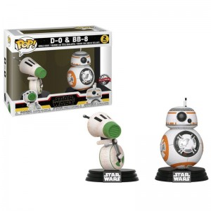 Set 2 figuras POP Star Wars...