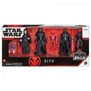Set 5 figuras Sith Star...